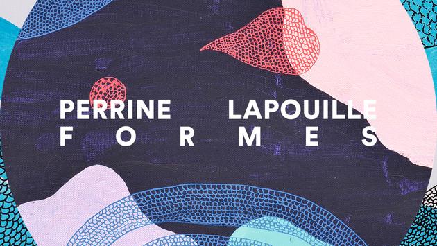 """Nouveau ! Publication  de """"Formes"""", bloc de 12 cartes postales avec les œuvres de Perrine Lapouille"""