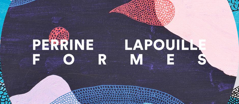 """Publication  de """"Formes"""", bloc de 12 cartes postales avec les œuvres de Perrine Lapouille"""
