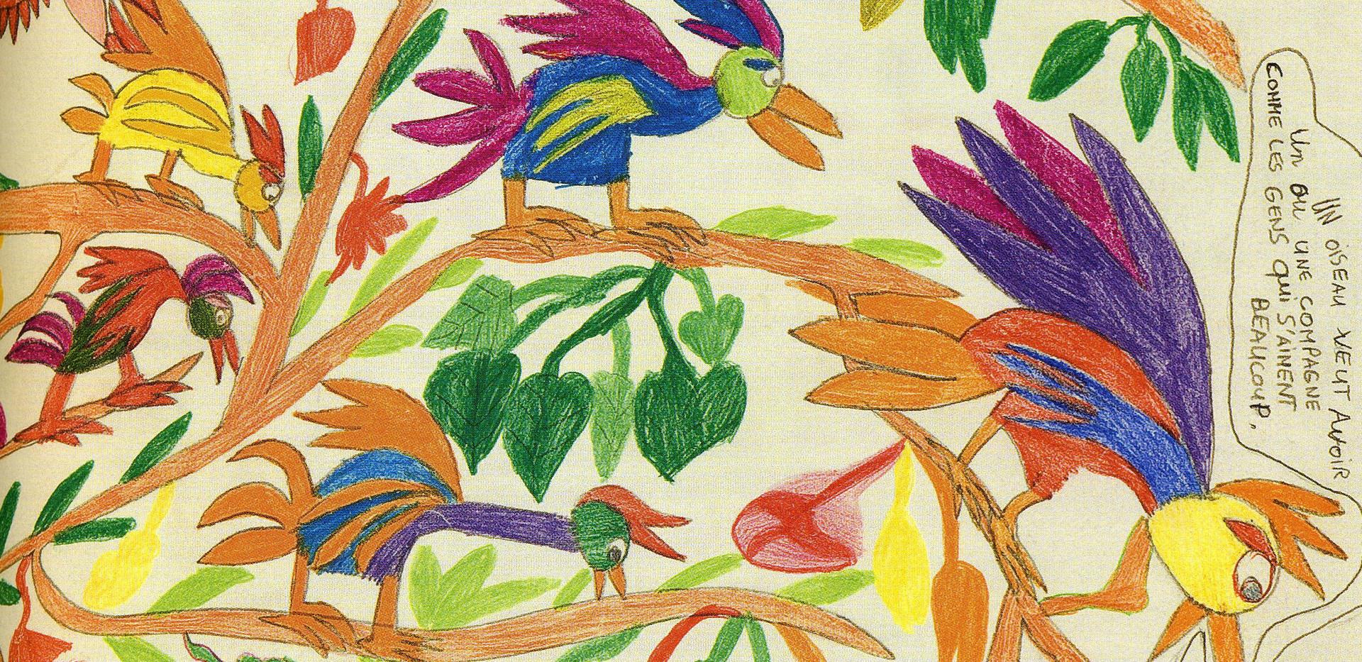 Oiseaux qui parlent, 2005