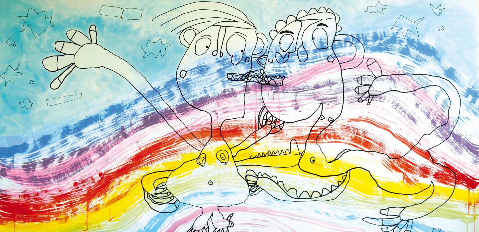 Dans l'arc en ciel d'amour, 2012