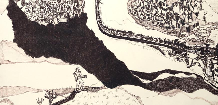 L'ombre sur la colline, 2009