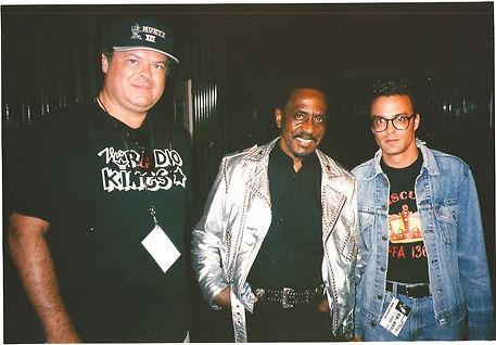 Jay Sheffield, Ike Turner & Michael Dina