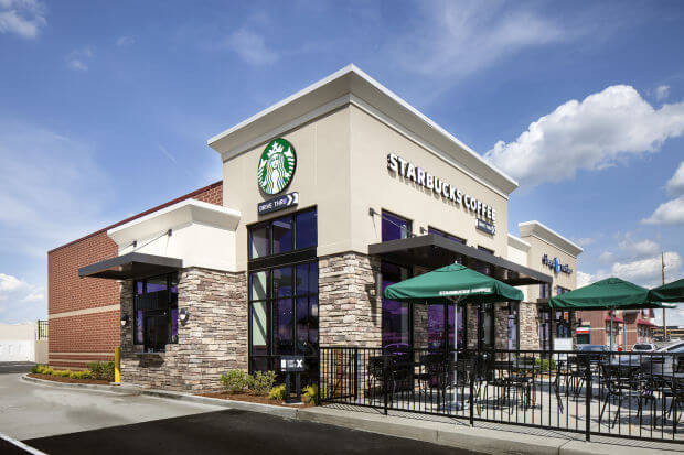 Starbucks 1031 Exchange net lease