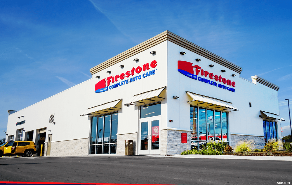 Firestone is NNN essential retailer net lease passive income tenant