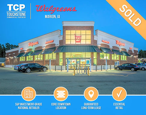 Walgreens Marion IA just sold  2a (for R