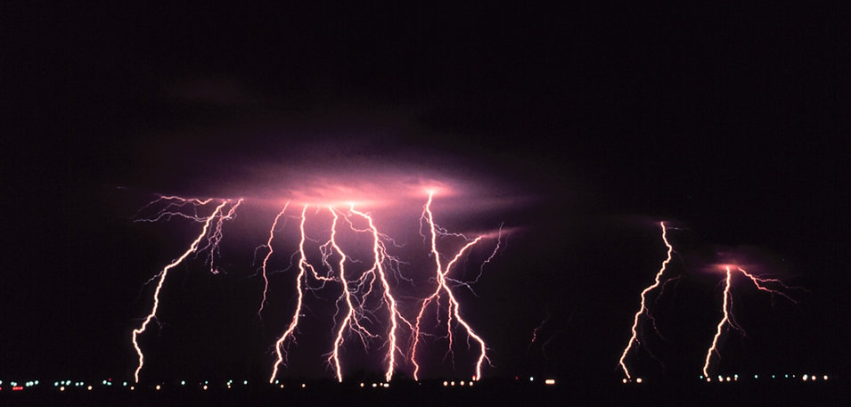 free lesson plan and resources about thunderstorms lightning
