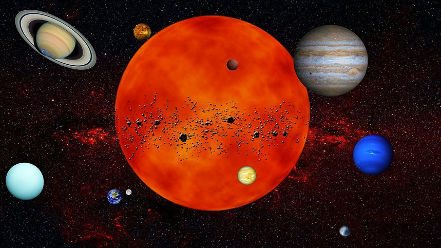 free lesson plan and resources about the size and scale of the planets and sun