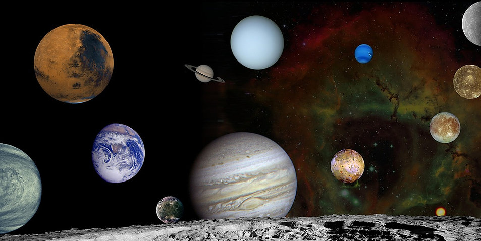 free lesson plan and resources about space and the planets