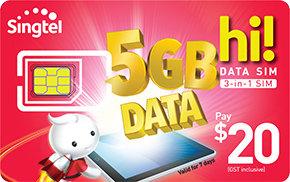 $20 hi!Data SIM Card