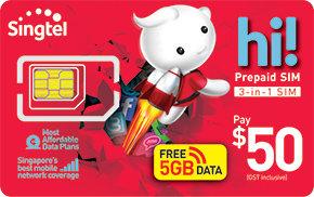 $50 hi! SIM Card