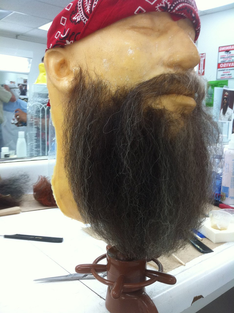 Hand Laid Beard