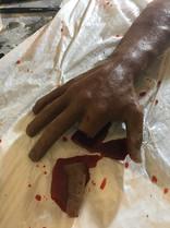 Finger Chop Gag after
