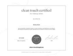 Dermalogica Safety Certification