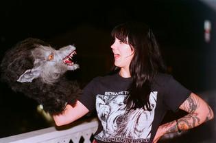 """""""Star Crossed"""" Werewolf puppet"""