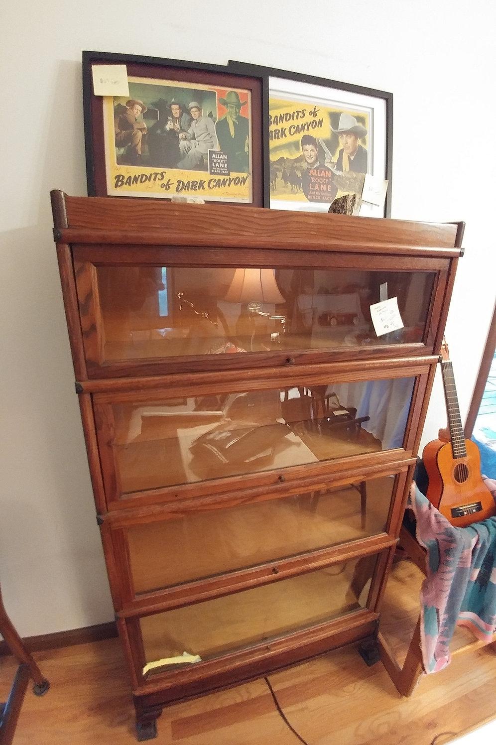 Antique Bookshelf Oak