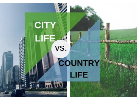 Moving to Rural Country Setting vs Big City