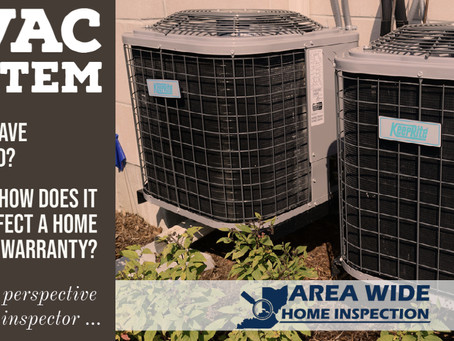 HVAC & Home Warranties - Perspective from a Home Inspector