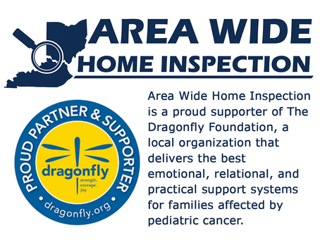 Area Wide Home Inspection - Proud Supporter of The Dragonfly Foundation.