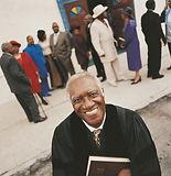 Pastor feliz