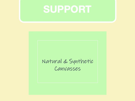 Natural & Synthetic Canvasses