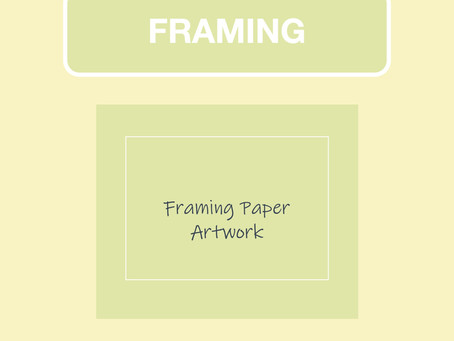 Framing (Paper Artwork)