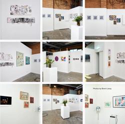 Artists' Studio 106 - Residents' artworks on display