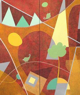 Painting-S245-Selva-Veeriah-Artist-Melbo