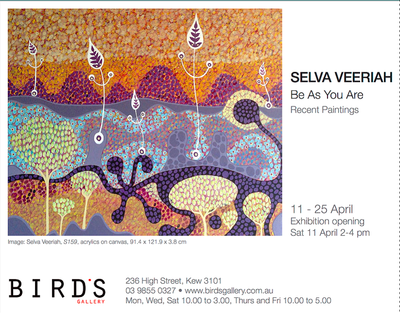 Exhibiton-Events-Birds-Gallery-Selva-Veeriah-Artist-Melbourne