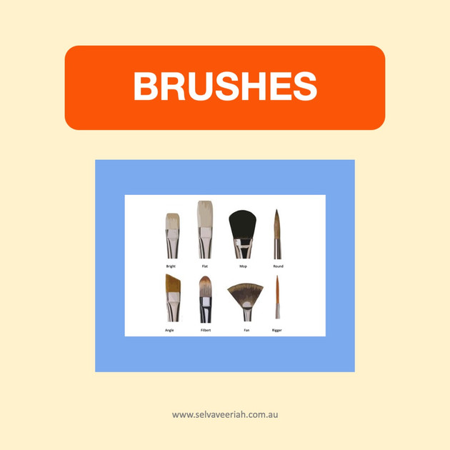 Material and techniques blog post on artist brushes.