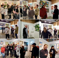 Artists' Studio 106 - photos of attendees