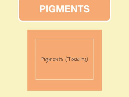 Pigments (Toxicity)