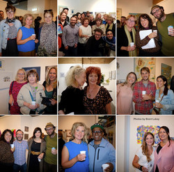 Artists' Studio 106 - individual shots of attendees