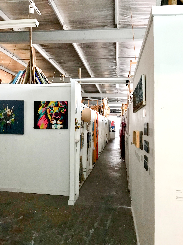 Artist rooms, Studio 106, Barkly St, St Kilda, Melbourne