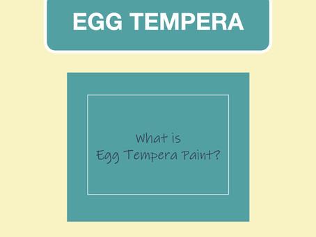 Egg Tempera Paint