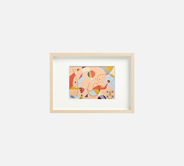Painting-S259-Framed-Ciglee-21x29-Selva-