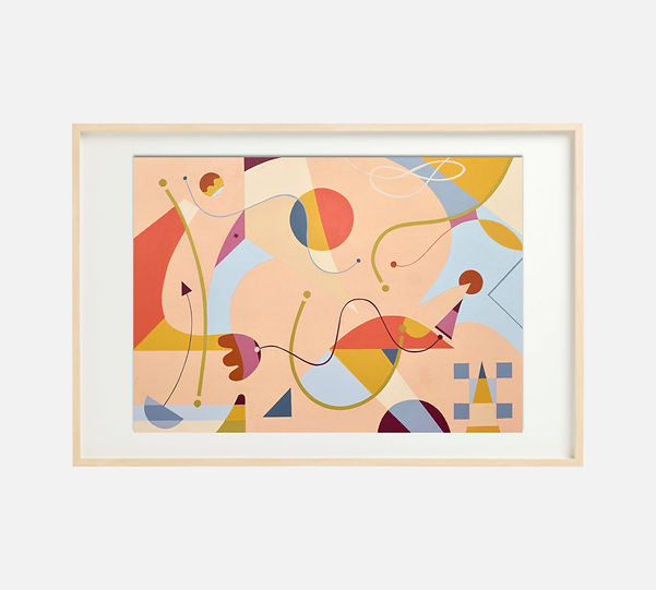 Painting-S259-Framed-Ciglee-50x70-Selva-