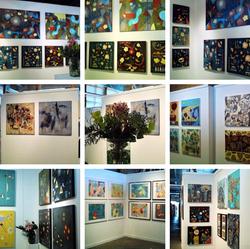 210624 Artists' Studio 106 - artworks on display