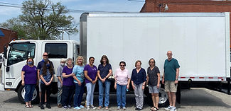 Truck with Staff and Volunteers April 29