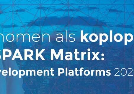 Thinkwise is opgenomen als koploper in technologie in SPARK Matrix: Low-Code Application Development