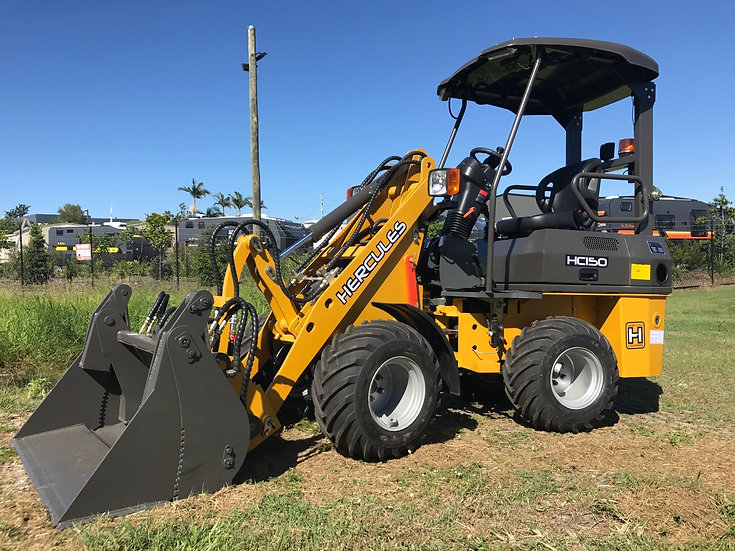 2019 Hercules HE150 Wheeled Mini Loader - 1.5 ton
