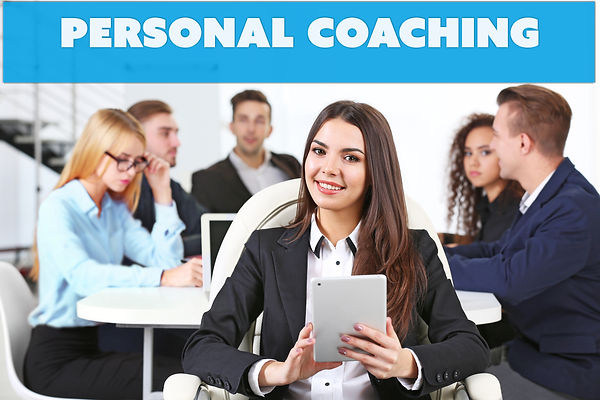 Personal coaching concept. Business woma