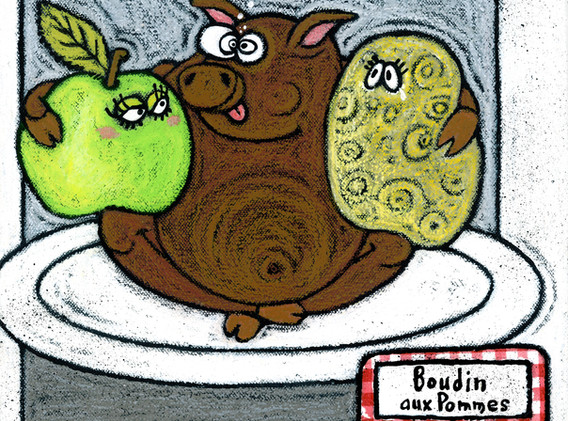 Boudin aux pommes