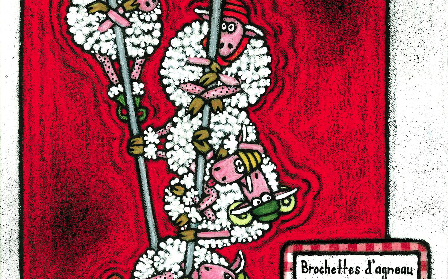 Brochettes d'agneaux