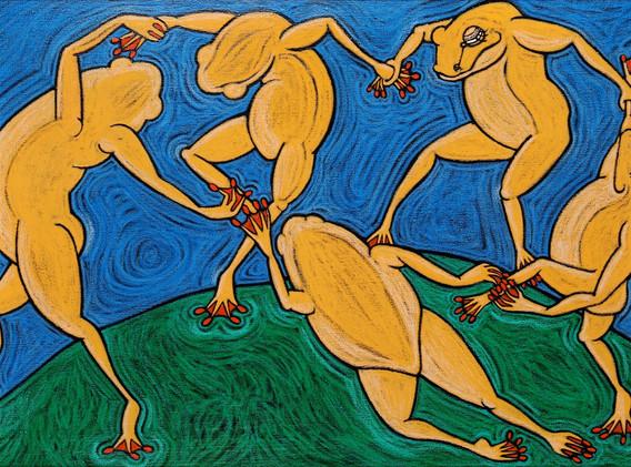 """""""La danse"""" d'après Matisse"""