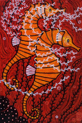 """Hippocampus Coronatus"""