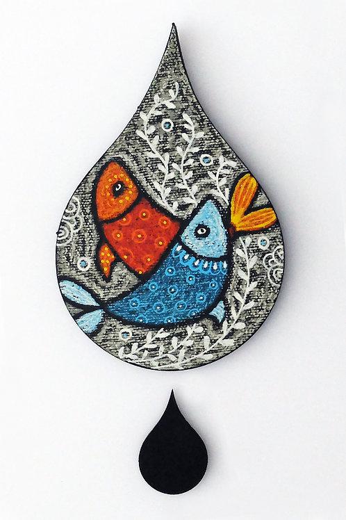 Goutte poissons - Petit modèle
