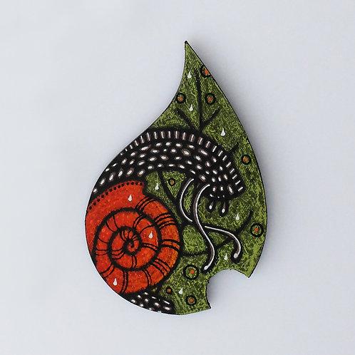 Feuille escargot - Petit modèle