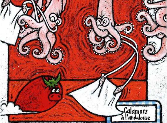 Calamars à l'Andalouse