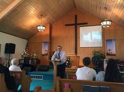 Pastor Mark Crowe
