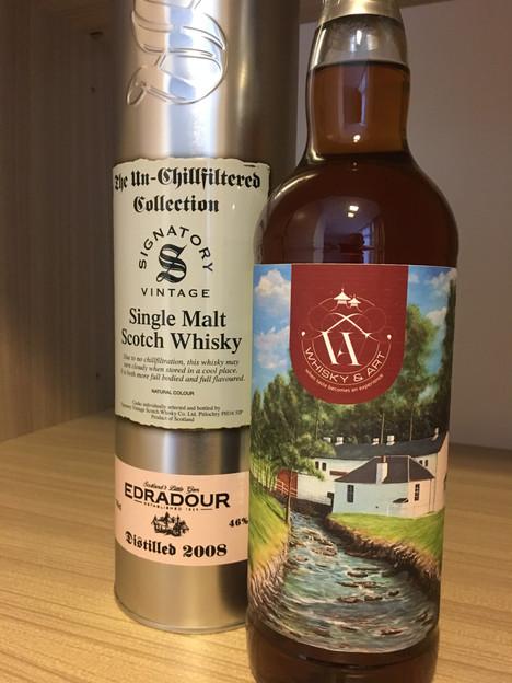 Signatory Edradour Whisky&Art Label Edra